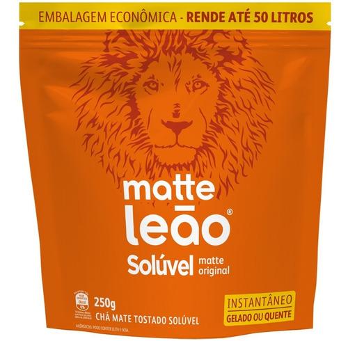 Chá Matte Leão - Soluvel Pouch 250g