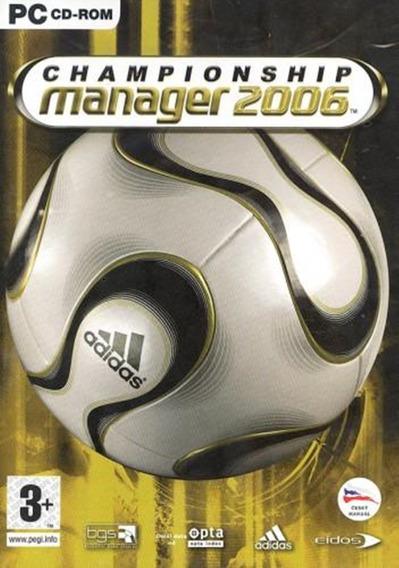Championship Manager 2006 Pc Digital