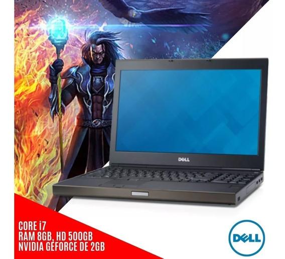 Notebook Dell Precision Intel I7 8gb, Hd500 + Frete Grátis