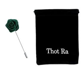 Thot Ra Fistol Flor Verde Oscuro Accesorio Para Traje C629