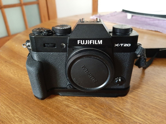 Camera Fuji X-t20 - Corpo + Grip Original