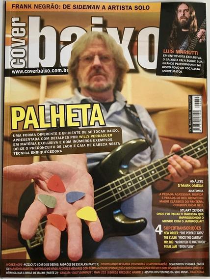 Revista Cover Baixo - Ed 84 - Ago/2009 - Palheta