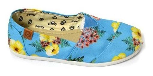 Alpargata Preta Sola Macia Perky Shoes Ac001