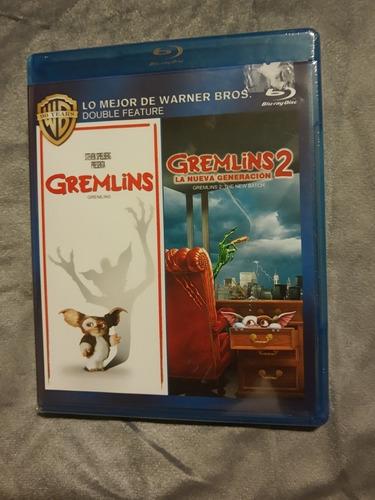 Imagen 1 de 2 de Película  Gremlins 1 Y 2' Nu3va