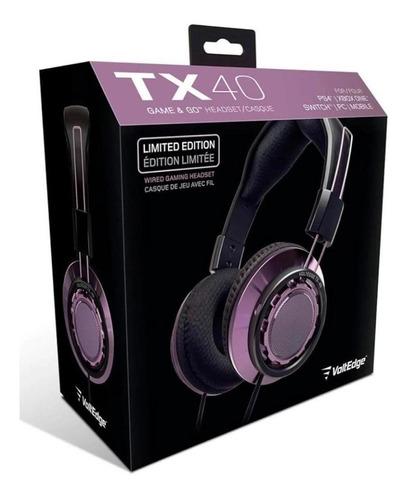 Headset Tx-40 Universal Voltedge ( Garantía De Por Vida )