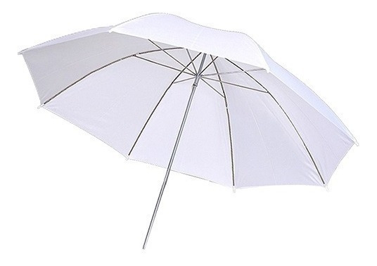 Sombrinha Difusora Suavizadora Branca 92cm
