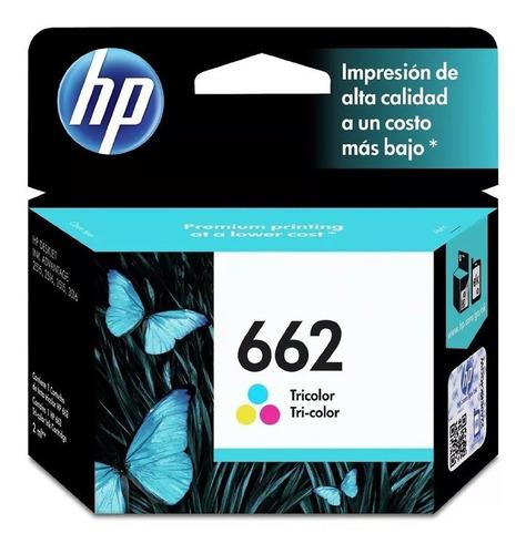 Cartucho Original Hp 662 Color Para 1515 2515 2545 3545 3645
