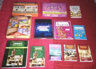 Coleção De 22 Livros Incluindo Kit Pedagógico