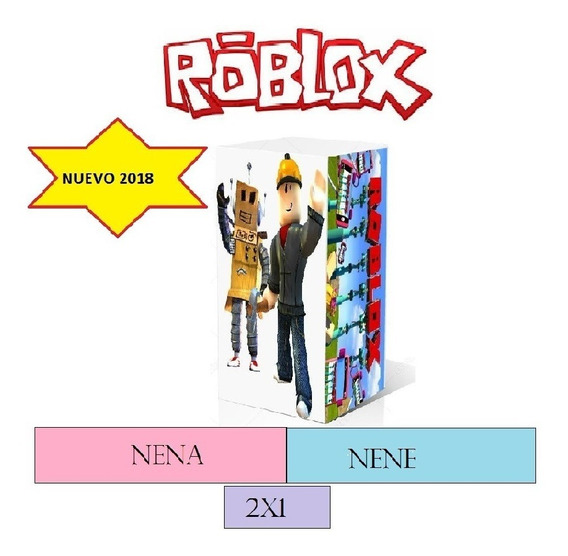 Kit Imprimible Roblox 2018 (nuevo ) 2x1 Nena -nene.