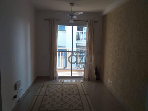 Apartamento Com 2 Dormitórios À Venda, 63 M² Por R$ 210.000,00 - Jardim Santa Izabel - Hortolândia/sp - Ap5120