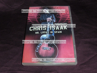 Chris Isaak Mr Lucky In Spain Dvd Europeo De Coleccion