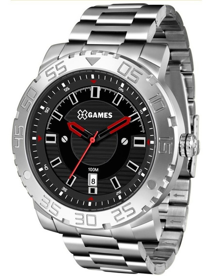 Relógio X Games Masculino Ref: Xmss1039 P2sx Big Case