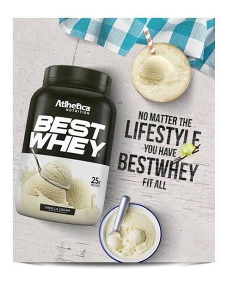 Best Whey (unidade-35g) Atlhetica Nutrition-vanilla Creme