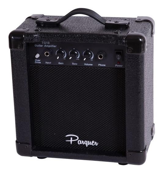 Amplificador De Guitarra Parquer 10 Watts Con Overdrive