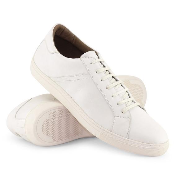 Sapatênis Meu Sapato Siena Off White Tamanhos 45 A 48