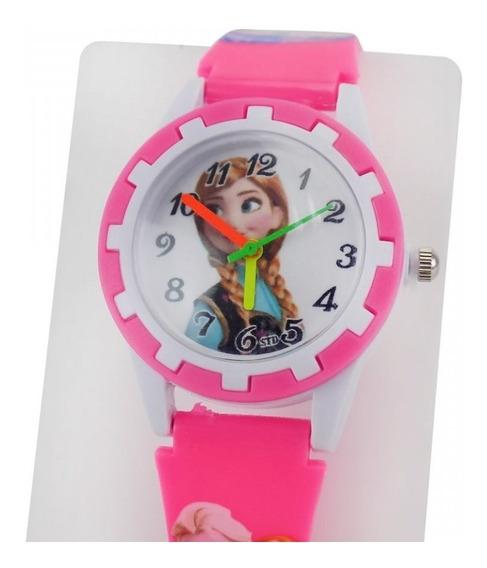 Relógio Infantil Feminino Orizom Analógico C / Nf-e - Romi1