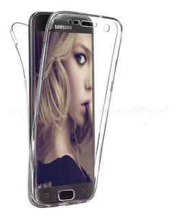 Capinha Capa Case Frente E Verso 360 Para Celular Samsung Galaxy J5 J7 J6 J8 S6 S7 S8 S9 A10 A20 A30 A50 A70 M10 M20 M30