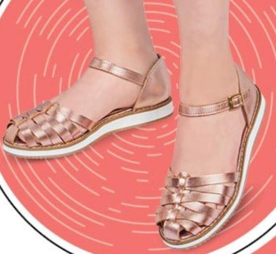 Zapato Dama Color Oro Rosado 476-05 Cklass Urban 2-19 E