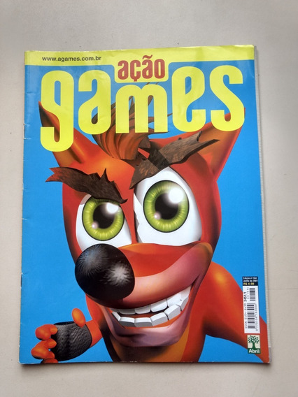 Revista Açao Games 164 Crash Batman Digimon Rayman Nhl 294