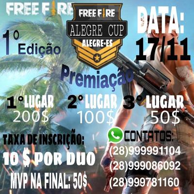 1° Edição Cup De Alegre-es