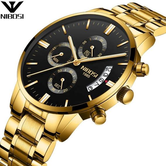 Relógio Nibosi Original Masculino Func. Pronta Entrega 23091