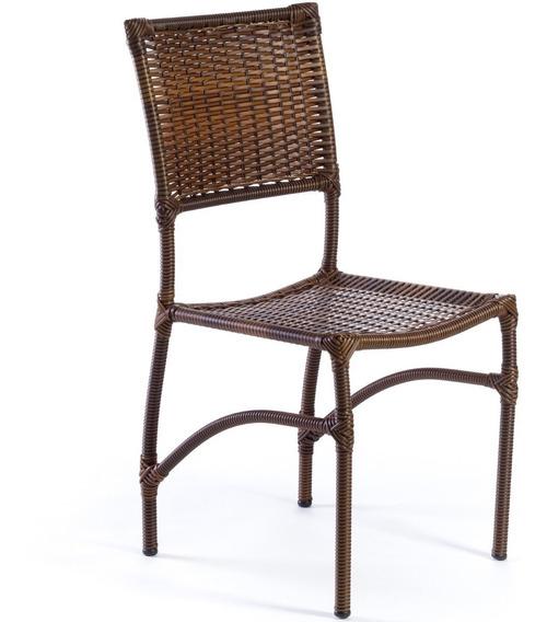 Cadeira Em Junco Fibra Sintética E Aço