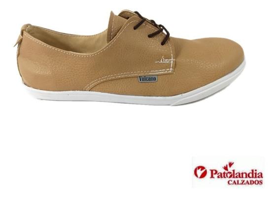 Zapatos Hombre Casual Vulcano Simil Cuero N° 39 / 44
