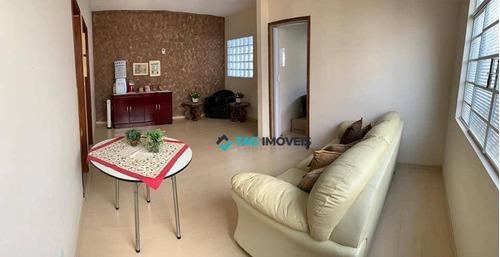 Casa Com 4 Dormitórios À Venda, 152 M² Por R$ 520.000,00 - Jardim Planalto - Campinas/sp - Ca0514