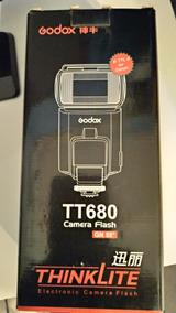 Flash Godox Tt680 Canon E-ttl Ii