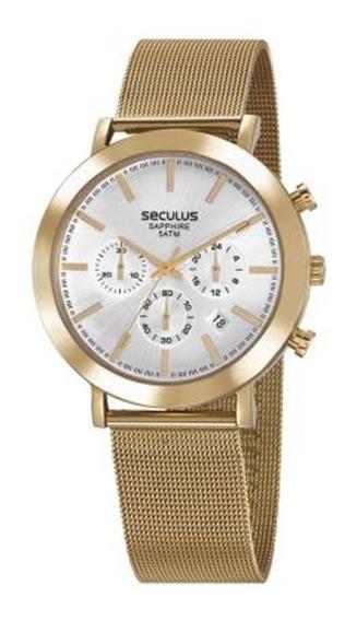 Relógio Seculus Feminino 23660gpsvda2