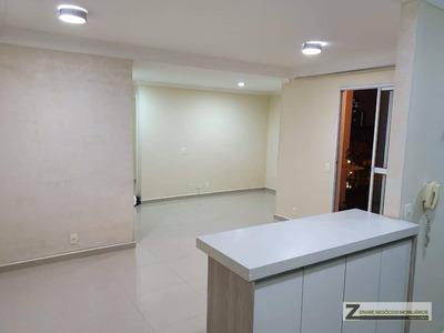 Apartamento Com 2 Dormitórios Para Alugar, 66 M² Por R$ 1.200/mês - Vila Rosália - Guarulhos/sp - Ap0262