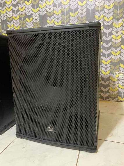 Subwoofer Ativo Behringer 1800hp 2200watts/rms P Ms