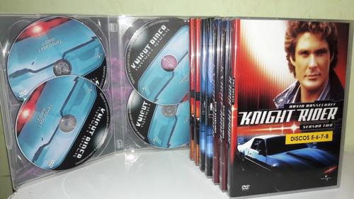 Imagem 1 de 4 de Box Dvd Super-máquina - Série Dublada Completa 4 Temporadas