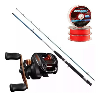 Combo Bait Pesca Reel Spinit + Caña Shimano + Multi