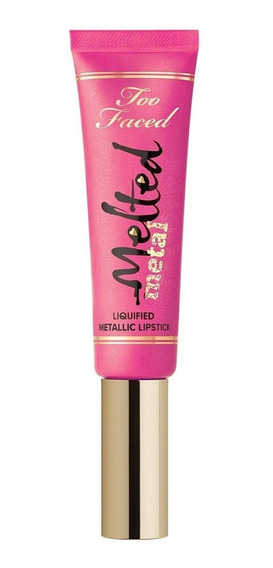 Too Faced Labial Melted Metallic Lipstick Macaron