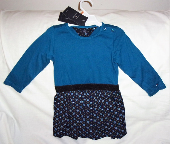 Tommy Hilfiger Vestido Menina 2 Anos Original Importado Novo