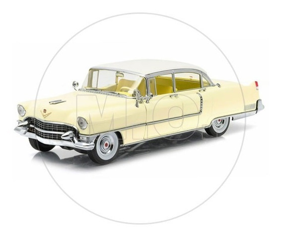 1:18 - Greenlight Cadillac Fleetwood Series 60 1955 Amarelo