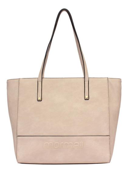 Bolsa Shopping Bag Em Alto Relevo Mormaii
