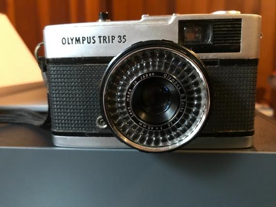 Maquina Fotográfica Olympus Trip 35 Funcionando
