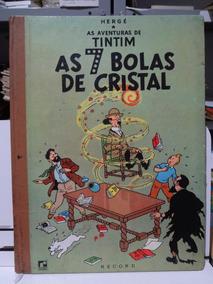 Gibi As Aventuras De Tintim As 7 Bolas De Cristal Hergé