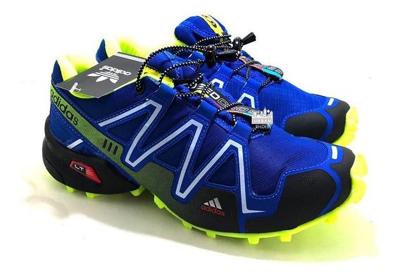 Tênis Scpeedcross 3 Trava Caminhada Corrida Promoção Treino