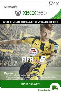 Fifa 17 Xbox 360 - Español Latino - Envío Gratis -