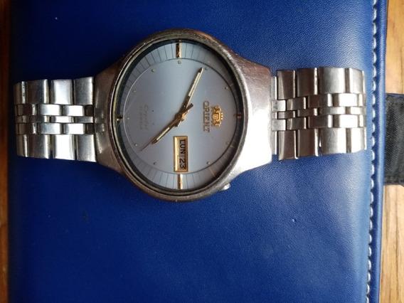 Reloj Orient Cristal 21 Jewels De Segunda Mano Original
