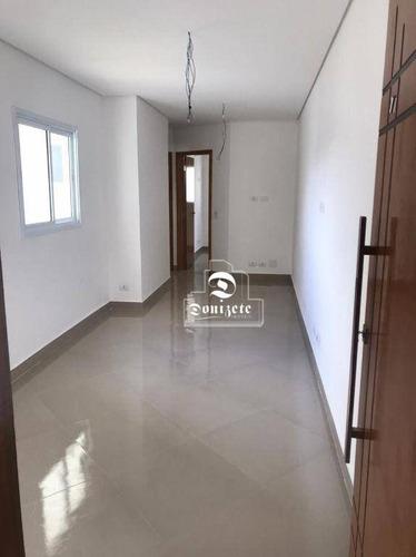 Imagem 1 de 17 de Apartamento Com 2 Dormitórios À Venda, 48 M² Por R$ 295.000,00 - Parque Novo Oratório - Santo André/sp - Ap17162