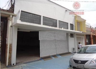 Salão Comercial Para Locação, Alto, Piracicaba. - Sl0126