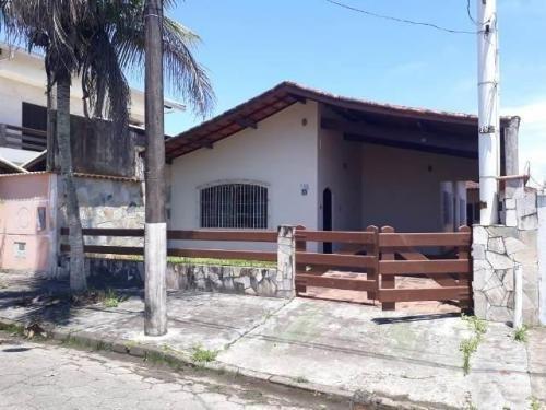 Casa No Grandesp À 500 Metros Do Mar E Com Edícula | 6466 E
