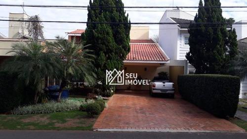 Casa Com 4 Dormitórios À Venda, 295 M² Por R$ 980.000,00 - Condomínio Portal De Itu - Itu/sp - Ca1027