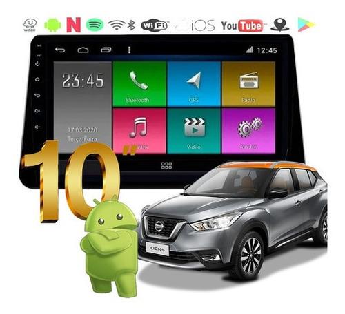 Imagem 1 de 5 de Multimidia Kicks Android 4k Tv Winca Bt Wifi Cam Frontal
