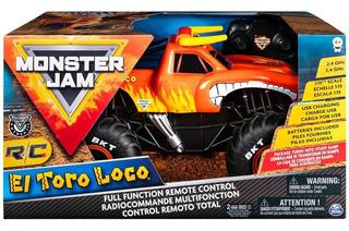 El Toro Loco Camioneta Radio Control - Monster Jam Original