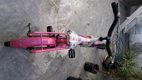 Bicicleta Niña Rodado 14. Con Rueditas.